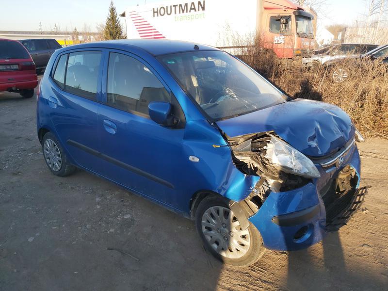 Naudotos automobilio dalys Hyundai I10 2008 1.2 Mechaninė Hečbekas 4/5 d. Melyna 2020-12-08