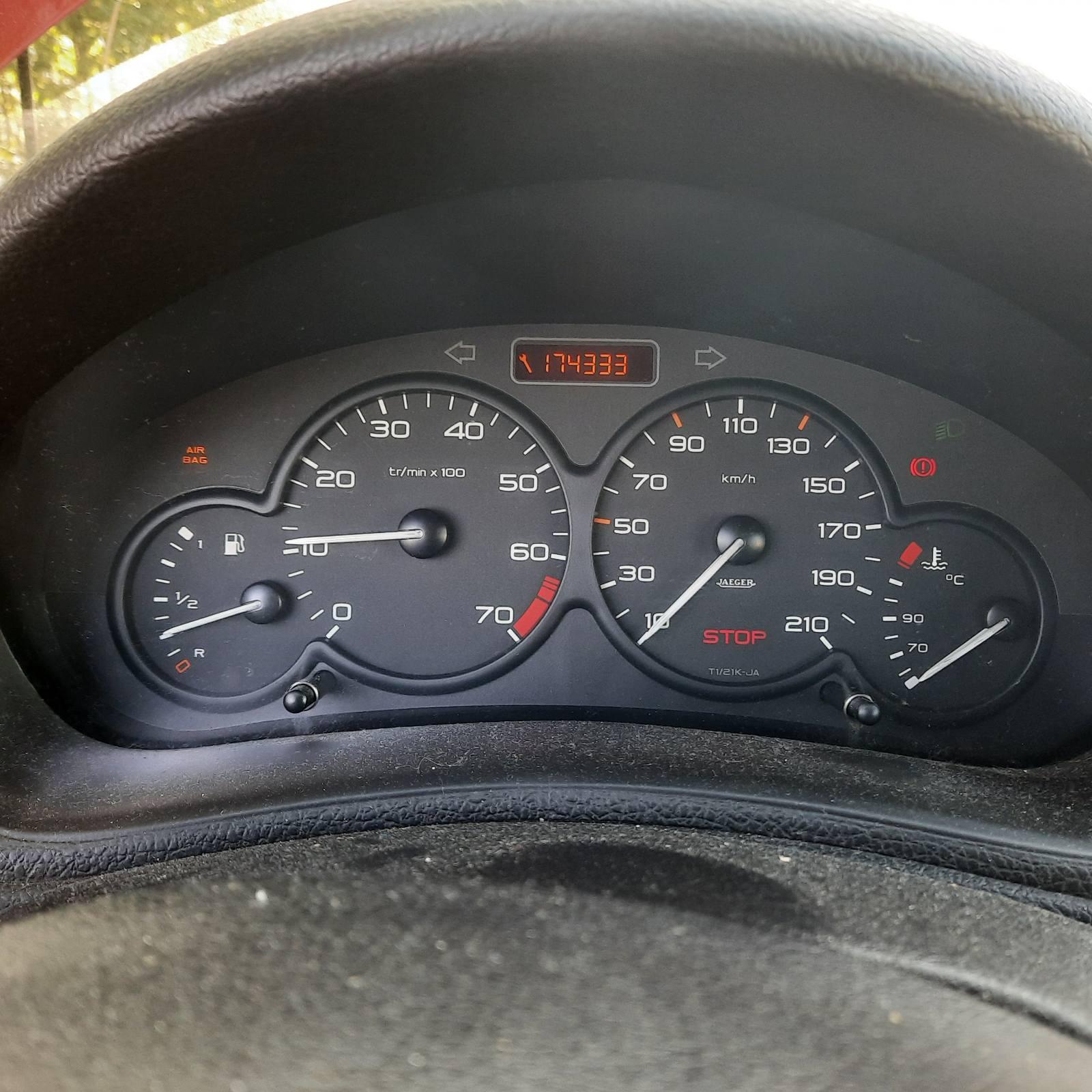 Naudotos automobilio dalys Peugeot 206 2003 1.1 Mechaninė Hečbekas 2/3 d. Raudona 2021-8-19