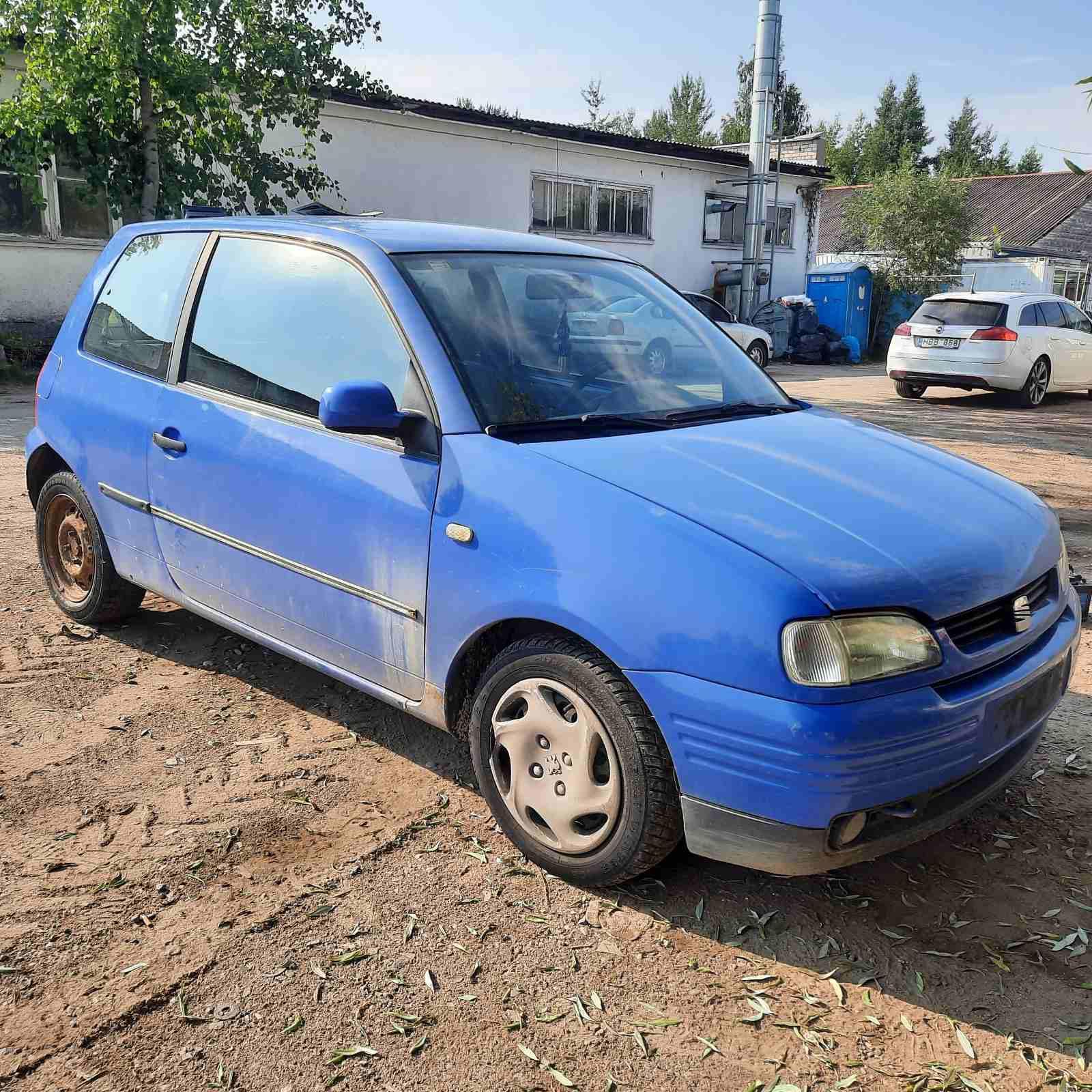 Naudotos automobilio dalys Seat AROSA 1999 1.7 Mechaninė Hečbekas 2/3 d. Melyna 2021-7-13