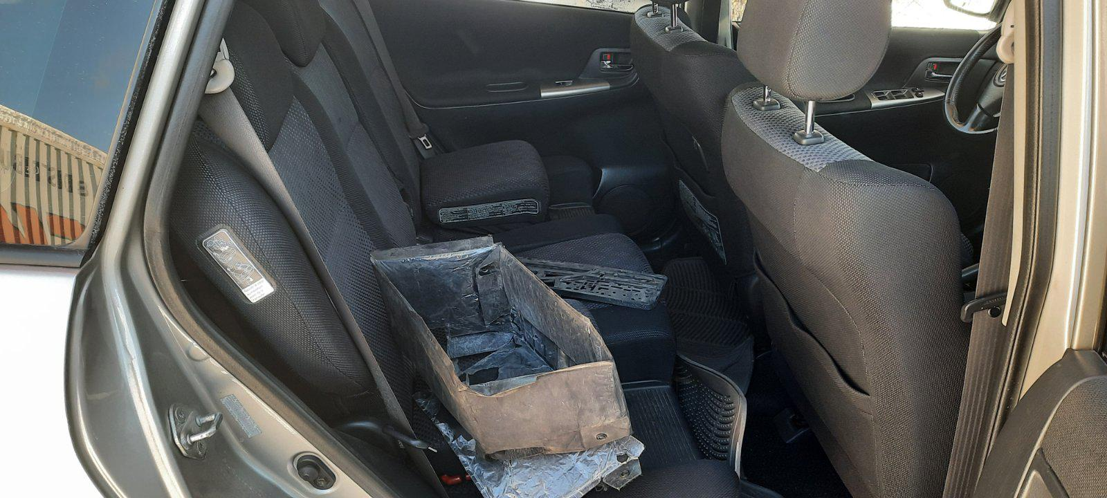 Used Car Parts Foto 9 Toyota COROLLA VERSO 2003 2.0 Mechanical Minivan 4/5 d. Grey 2021-2-18 A6058