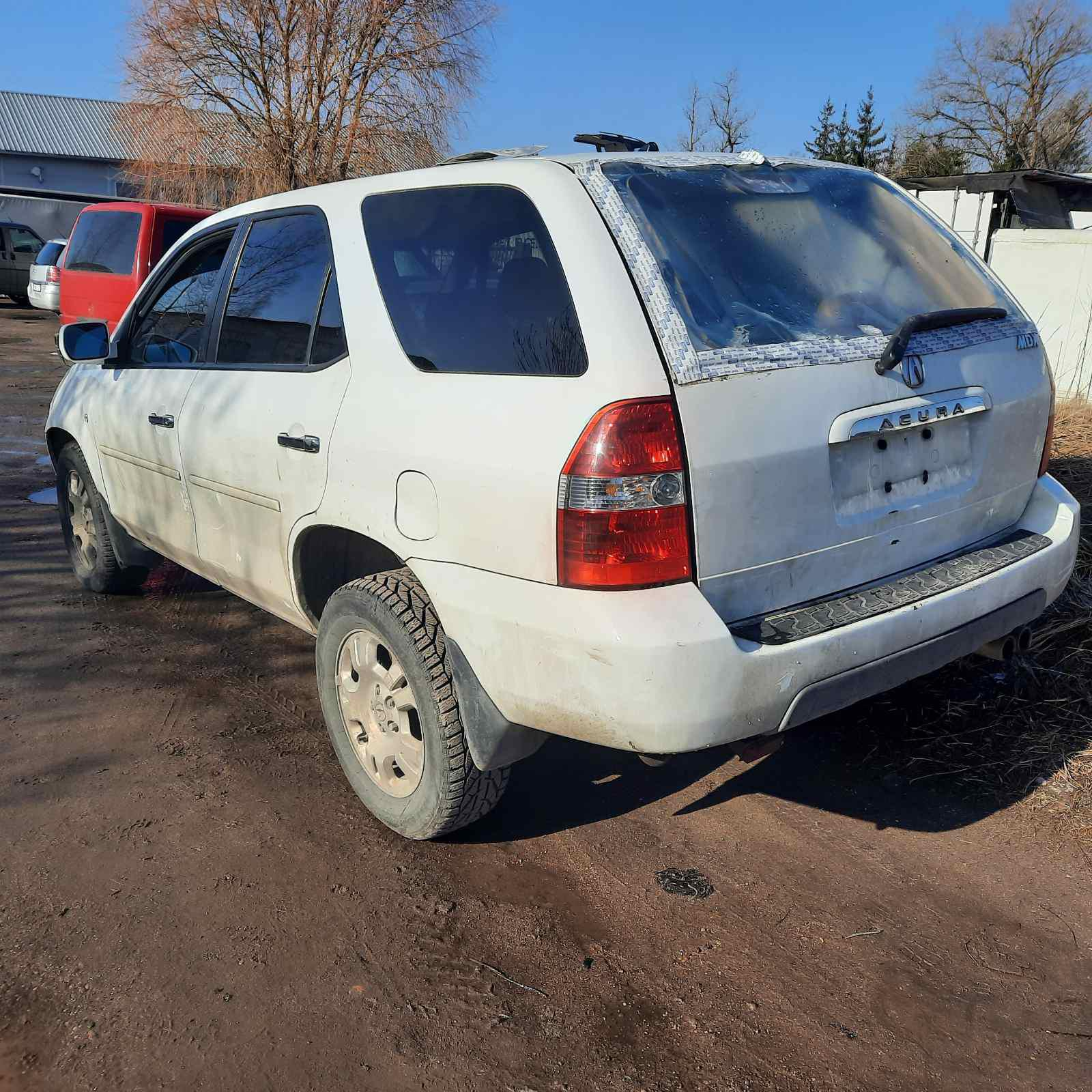 Used Car Parts Foto 8 Acura MDX 2002 3.5 Automatic Jeep 4/5 d. white 2021-4-07 A6132