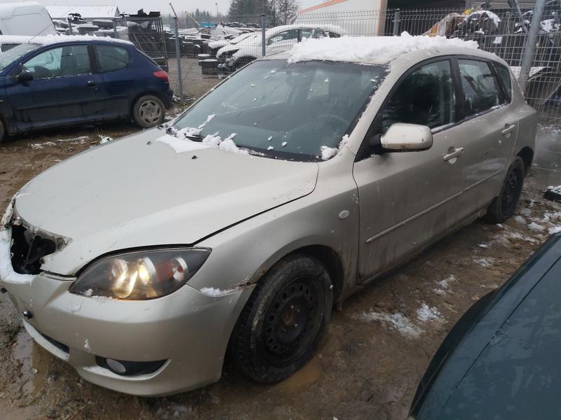 Naudotos automobilio dalys Mazda 3 2004 1.6 Mechaninė Hečbekas 4/5 d. Ruda 2020-12-01