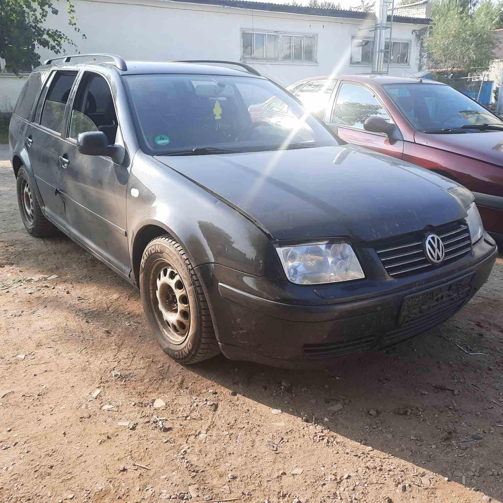 Подержанные Автозапчасти Volkswagen BORA 2000 1.9 машиностроение универсал 4/5 d. черный 2021-7-23