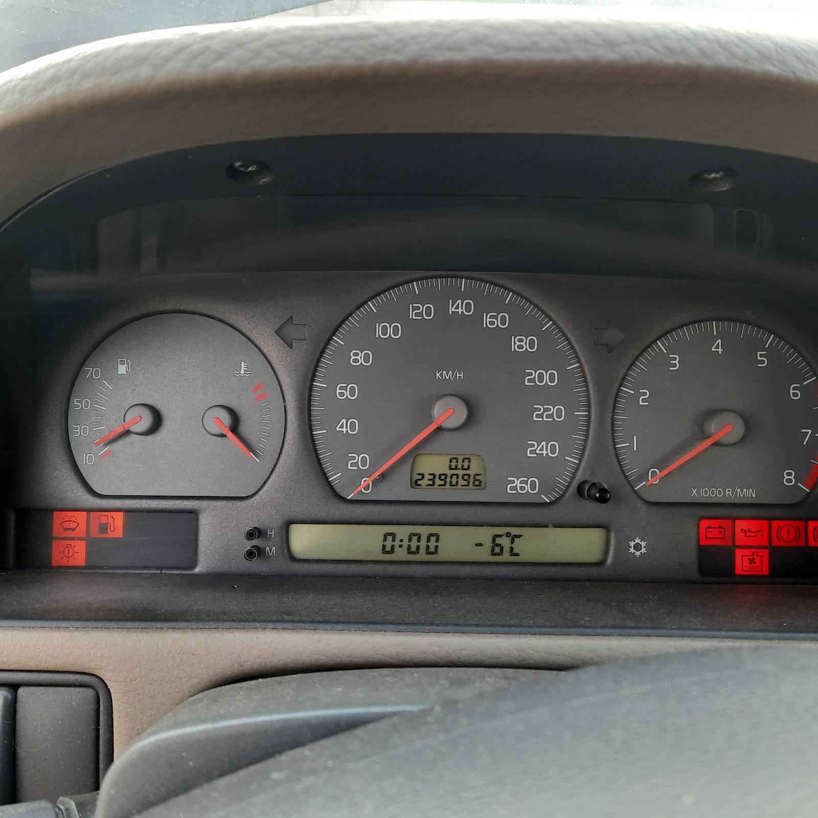 Naudotos automobilio dalys Volvo V70 1998 2.5 Mechaninė Universalas 4/5 d. Melyna 2021-3-10