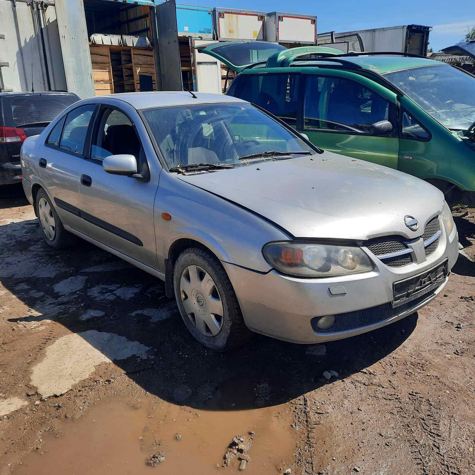 Подержанные Автозапчасти Nissan ALMERA 2005 1.5 машиностроение седан 4/5 d. серебро 2021-6-16