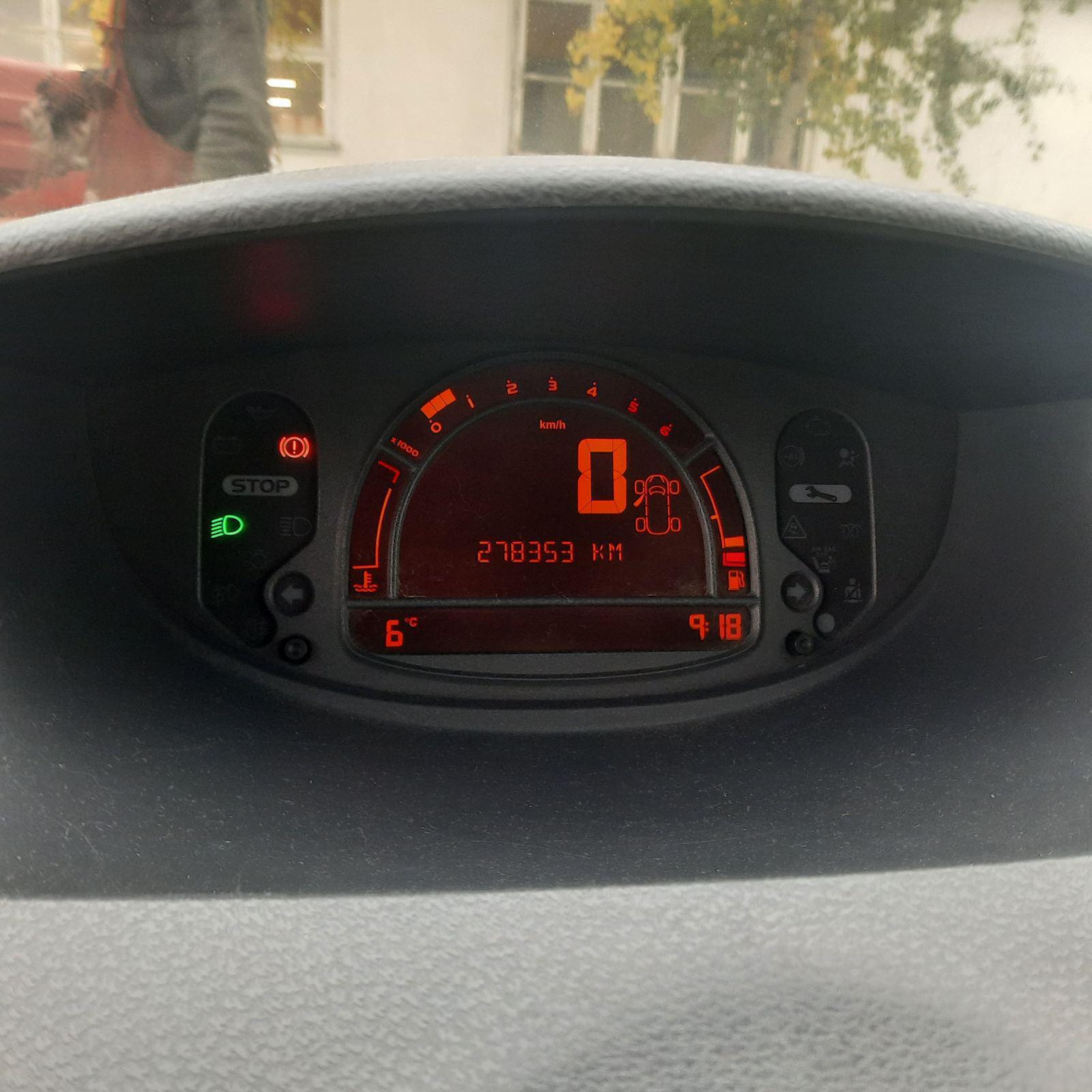 Naudotos automobilio dalys Renault MODUS 2005 1.5 Mechaninė Hečbekas 4/5 d. Pilka 2021-10-01
