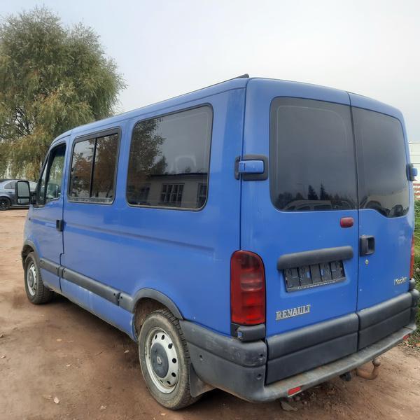 Naudotos automobiliu dallys Foto 3 Renault MASTER 2002 2.2 Mechaninė Krovininis mikroautobusas 2/3 d. Melyna 2021-10-14 A6744