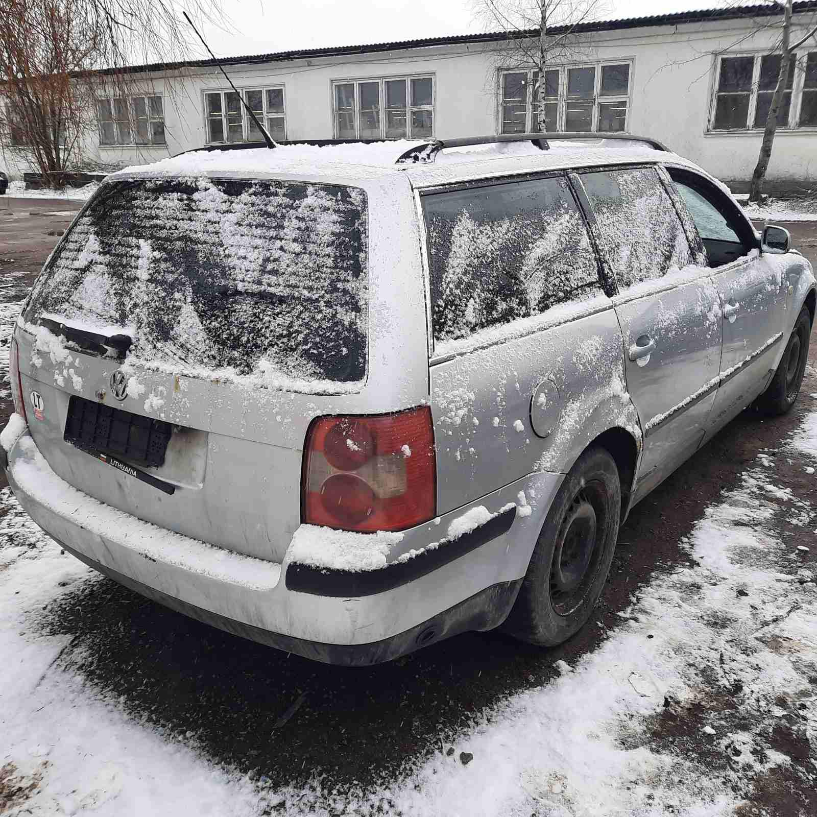 Naudotos automobiliu dallys Foto 8 Volkswagen PASSAT 2003 2.0 Mechaninė Universalas 4/5 d. Sidabrine 2021-4-06 A6130
