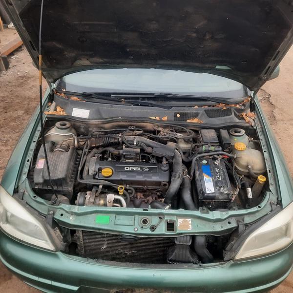 Naudotos automobiliu dallys Foto 3 Opel ASTRA 2000 1.7 Mechaninė Universalas 4/5 d. Zalia 2021-10-14 A6741