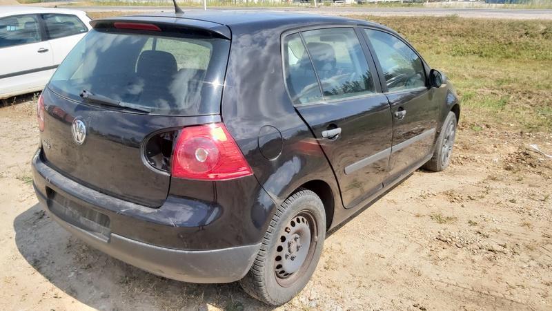 Naudotos automobilio dalys Volkswagen GOLF 2007 1.4 Mechaninė Hečbekas 4/5 d. Juoda 2021-7-22
