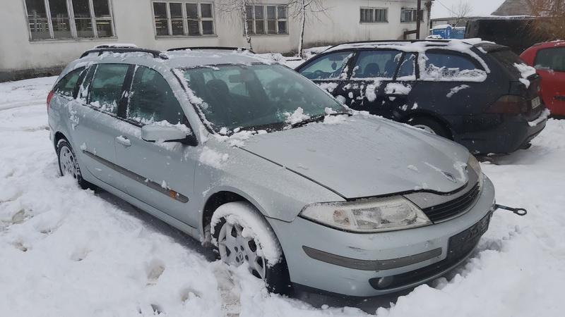 Подержанные Автозапчасти Renault LAGUNA 2002 1.8 автоматическая универсал 4/5 d. серебро 2021-1-26