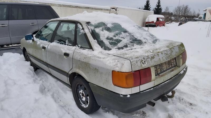 Naudotos automobilio dalys Audi 80 1990 1.8 Mechaninė Sedanas 4/5 d. Pilka 2021-2-01