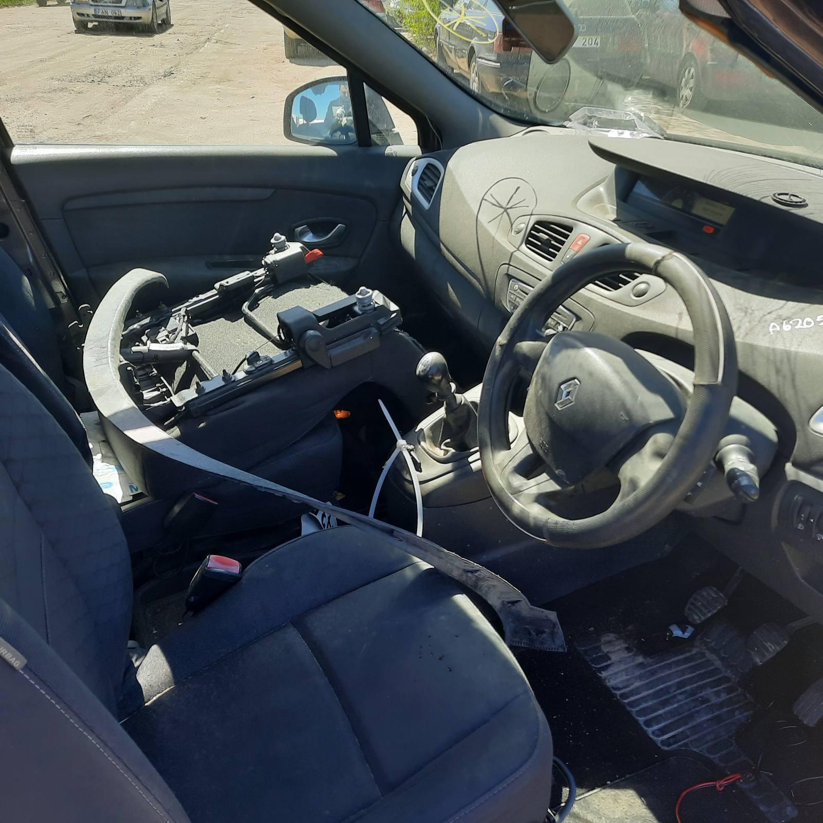 Naudotos automobilio dalys Renault GRAND SCENIC 2010 1.5 Mechaninė Vienatūris 4/5 d. Ruda 2021-5-11