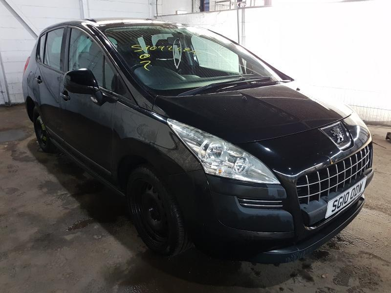 Naudotos automobilio dalys Peugeot 3008 2010 1.6 Mechaninė Vienatūris 4/5 d. Juoda 2021-1-29