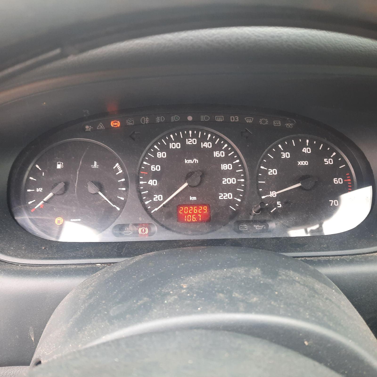 Naudotos automobilio dalys Renault SCENIC 1999 1.6 Mechaninė Vienatūris 4/5 d. Raudona 2021-9-29
