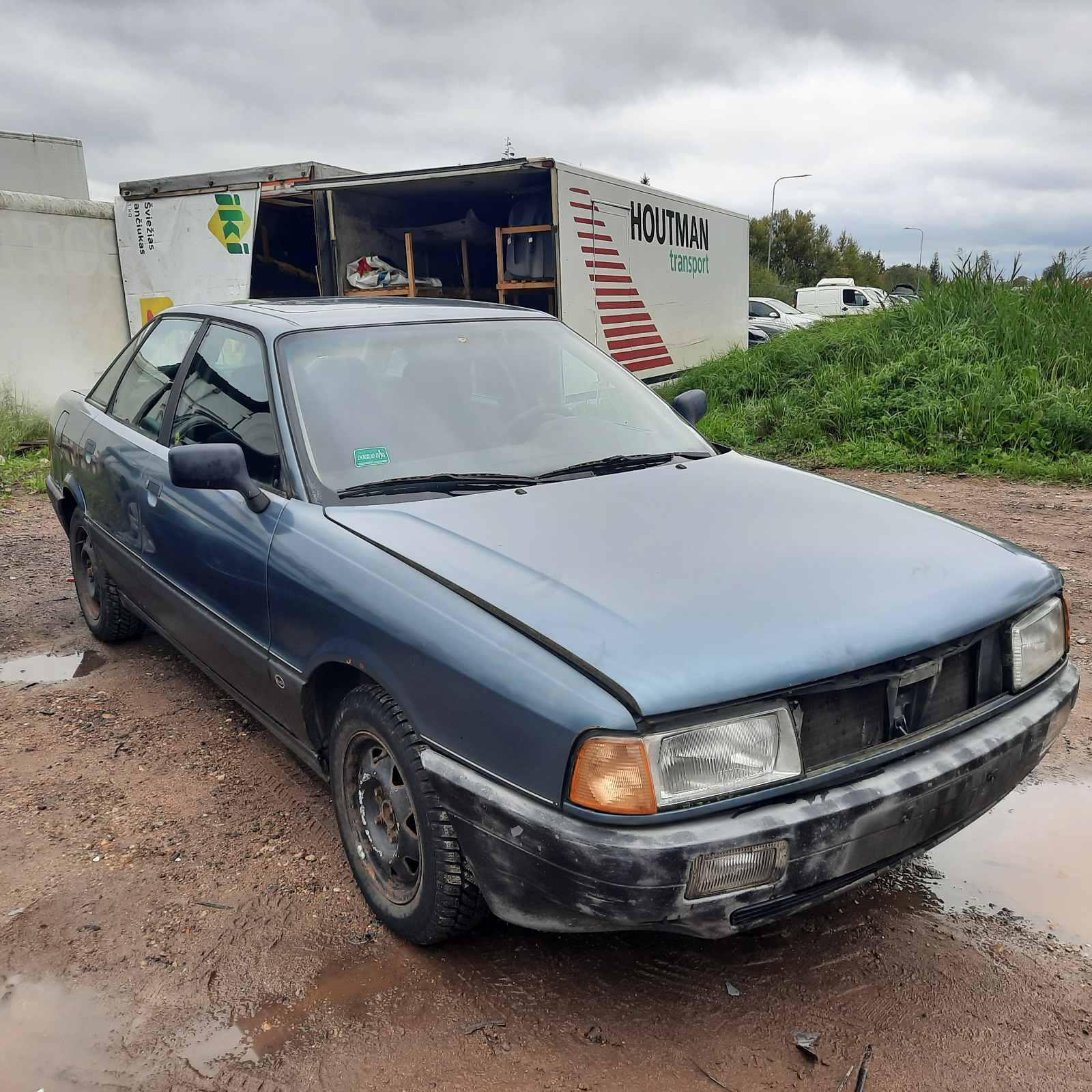 Audi 80 1988 1.8 автоматическая