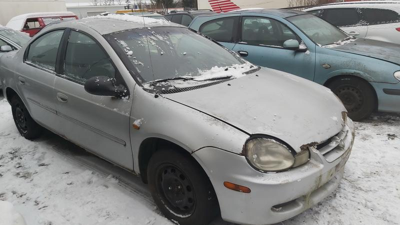 Naudotos automobilio dalys Dodge NEON 2002 2.0 Mechaninė Sedanas 4/5 d. Pilka 2020-12-15
