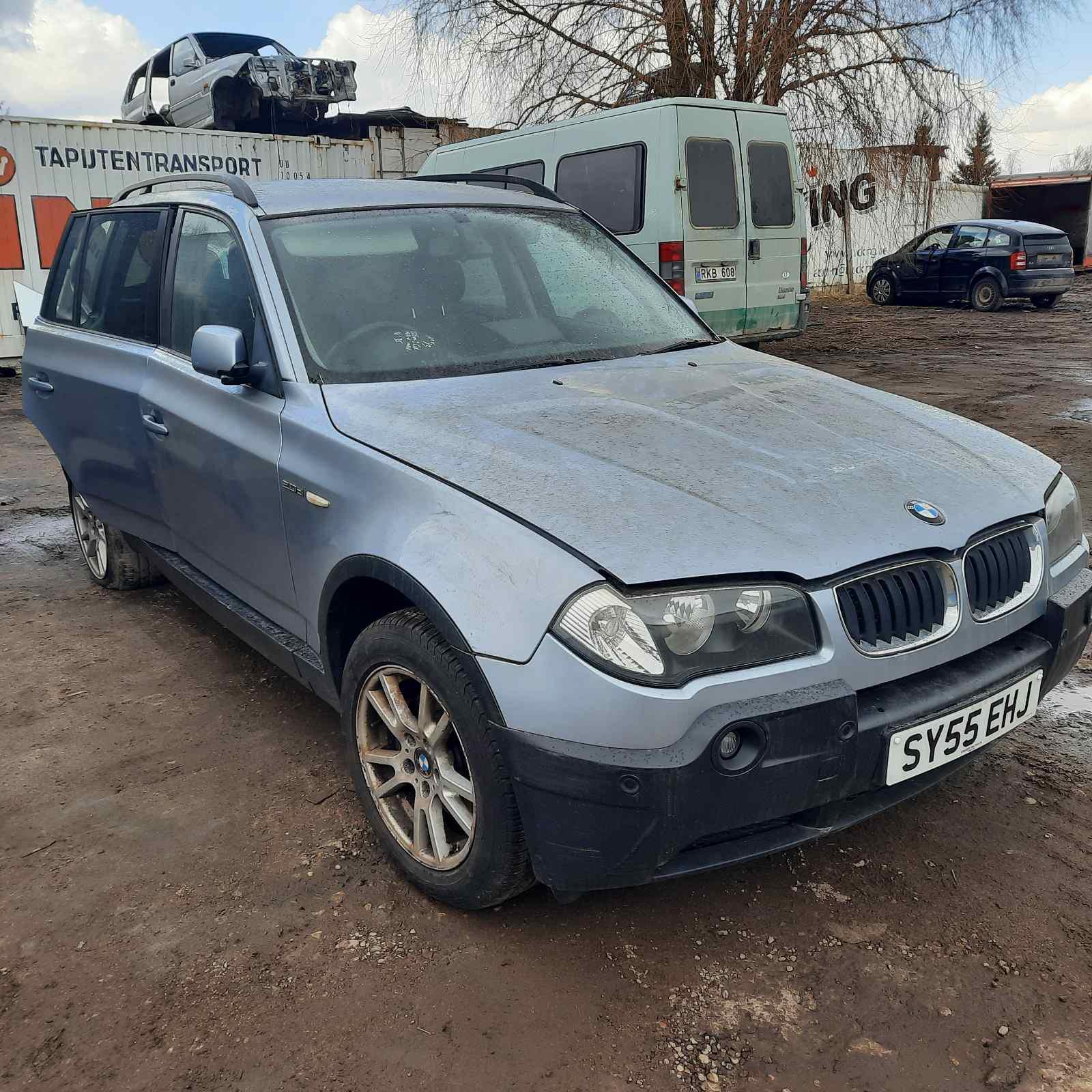 Naudotos automobilio dalys BMW X3 2005 2.0 Mechaninė Visureigis 4/5 d. Melyna 2021-4-07