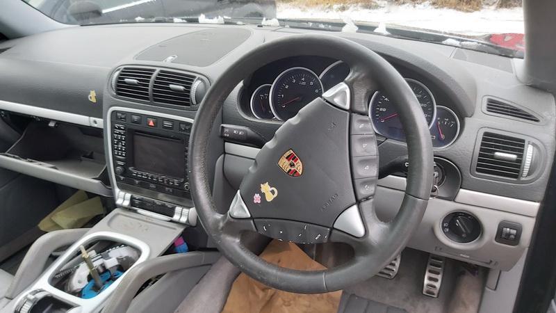 Naudotos automobilio dalys Porsche CAYENNE 2003 4.5 Automatinė Visureigis 4/5 d. Melyna 2020-12-23
