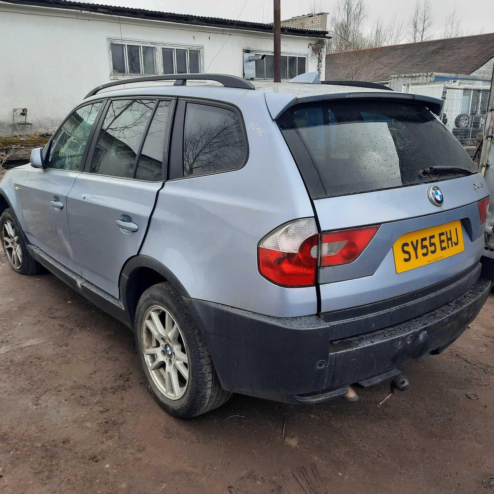 Naudotos automobiliu dallys Foto 8 BMW X3 2005 2.0 Mechaninė Visureigis 4/5 d. Melyna 2021-4-07 A6135