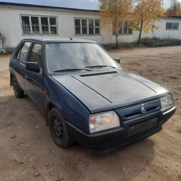 Naudotos automobilio dalys Skoda FAVORIT 1993 1.3 Mechaninė Hečbekas 4/5 d. Melyna 2021-10-09