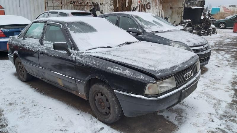 Naudotos automobilio dalys Audi 80 1989 1.8 Mechaninė Sedanas 4/5 d. Juoda 2020-12-31