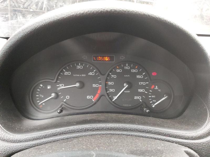 Подержанные Автозапчасти Foto 7 Peugeot 206 2002 1.4 машиностроение хэтчбэк 4/5 d. Серый 2020-11-21 A5840