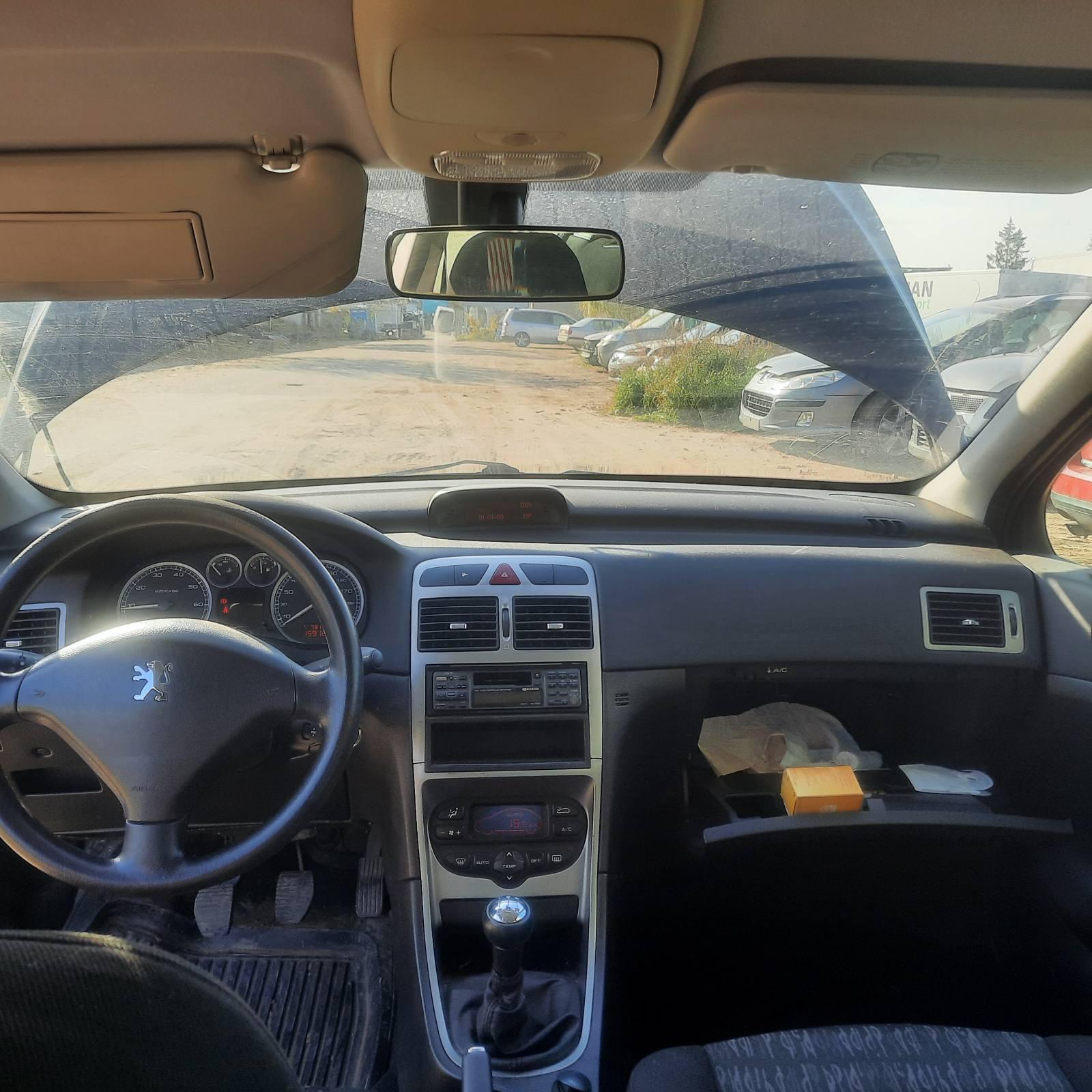 Naudotos automobilio dalys Peugeot 307 2002 1.6 Mechaninė Hečbekas 2/3 d. Juoda 2021-10-12