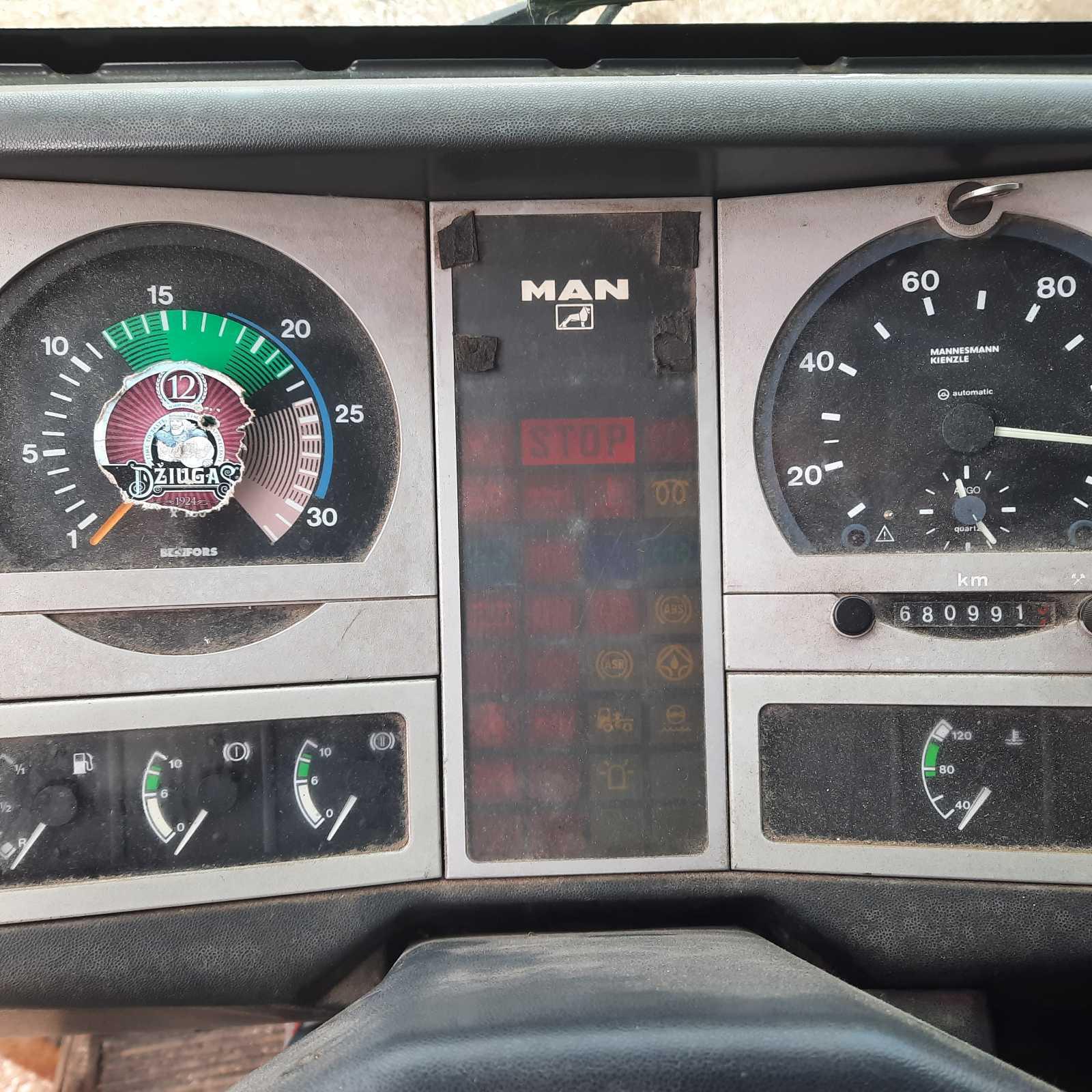 Naudotos automobiliu dallys Foto 5 Truck - MAN 8.163 1998 4.6 Mechaninė Sunkvezimis 2/3 d. Balta 2021-3-29 A6127