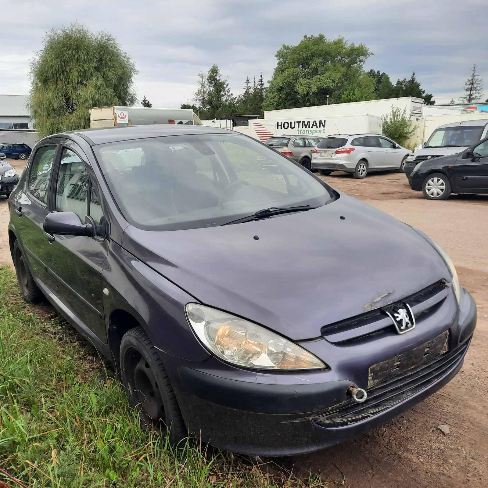 Naudotos automobilio dalys Peugeot 307 2004 2.0 Mechaninė Hečbekas 4/5 d. Violetine 2021-7-28
