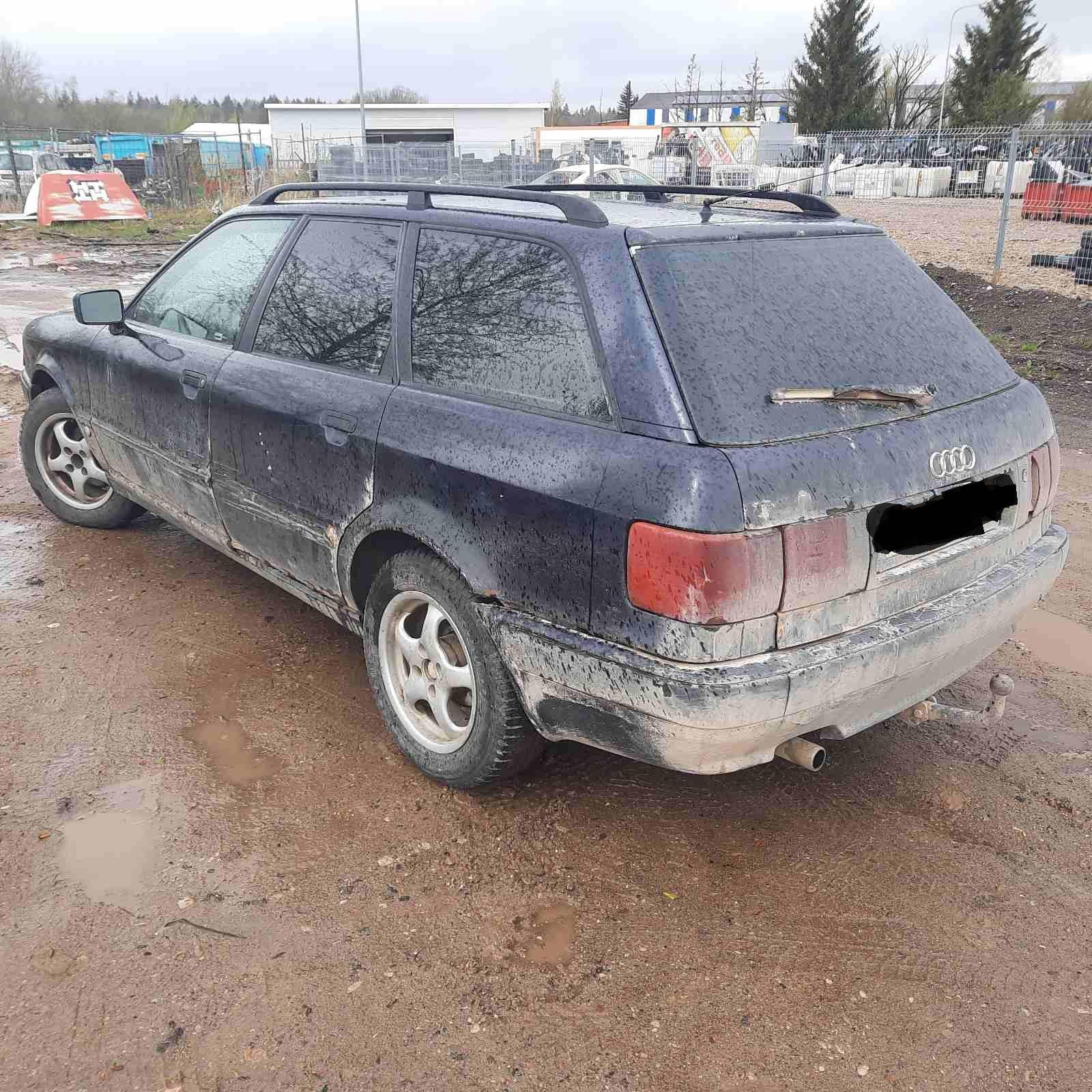 Naudotos automobiliu dallys Foto 8 Audi 80 1994 1.9 Mechaninė Universalas 4/5 d. Melyna 2021-5-06 A6199
