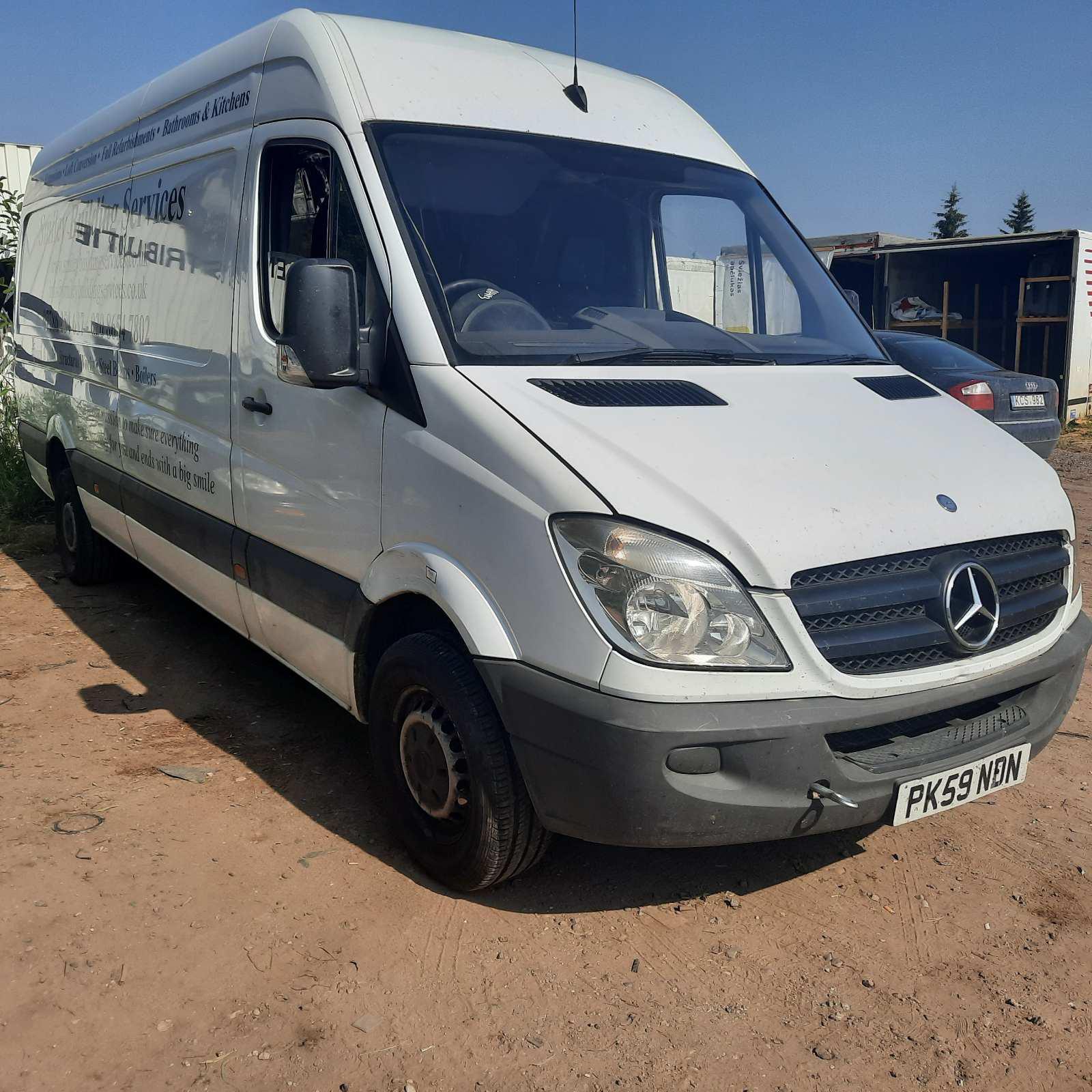 Naudotos automobilio dalys Mercedes-Benz SPRINTER 2009 2.2 Mechaninė Krovininis mikroautobusas 2/3 d. Balta 2021-7-15