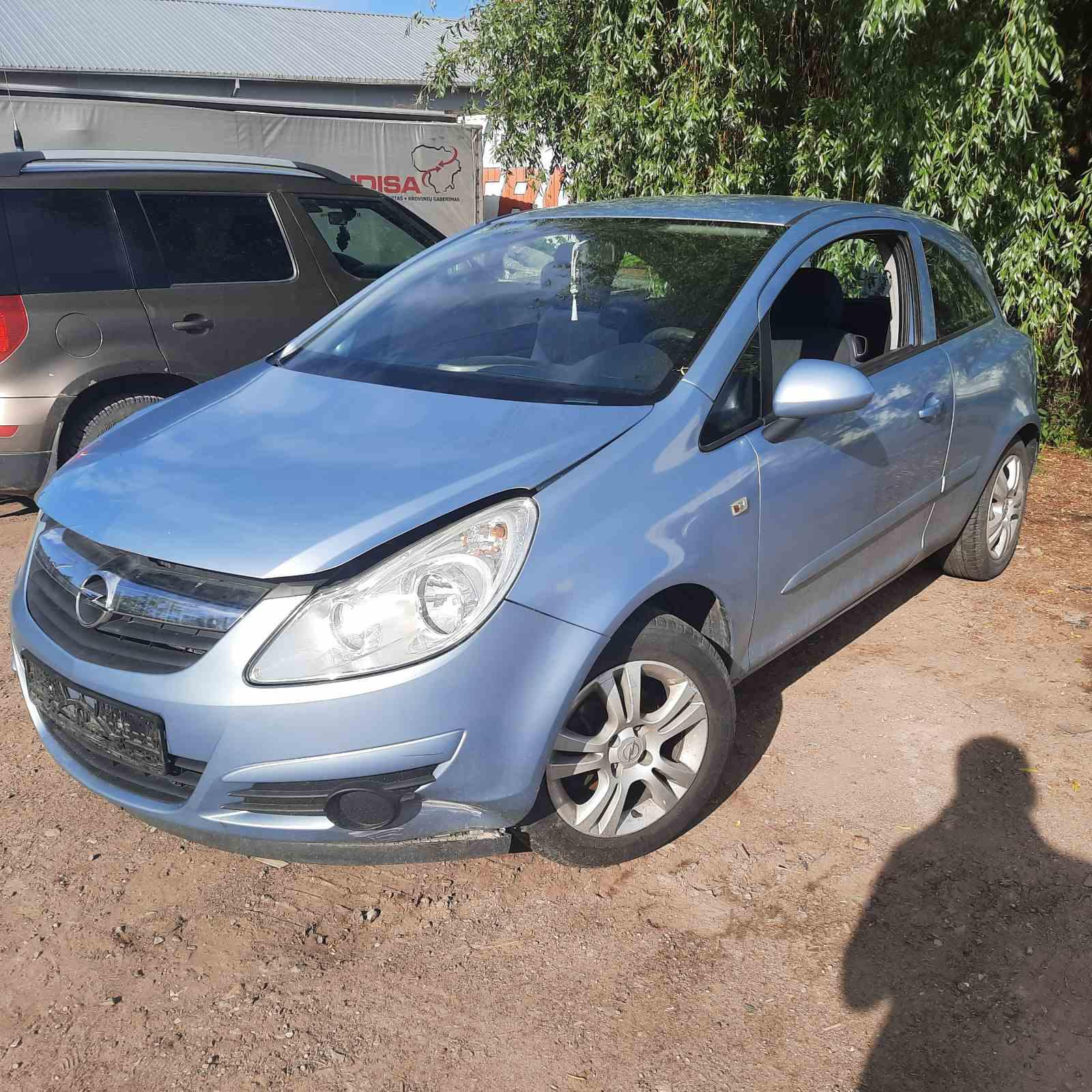 Naudotos automobiliu dallys Foto 2 Opel CORSA 2007 1.2 Mechaninė Hečbekas 2/3 d. Melyna 2021-6-11 A6303
