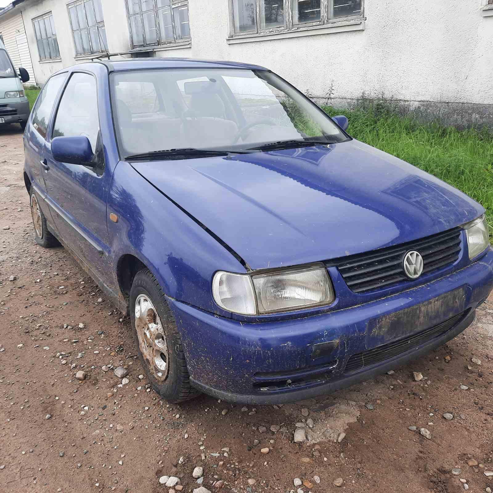 Naudotos automobilio dalys Volkswagen POLO 1998 1.7 Mechaninė Hečbekas 2/3 d. Melyna 2021-8-27