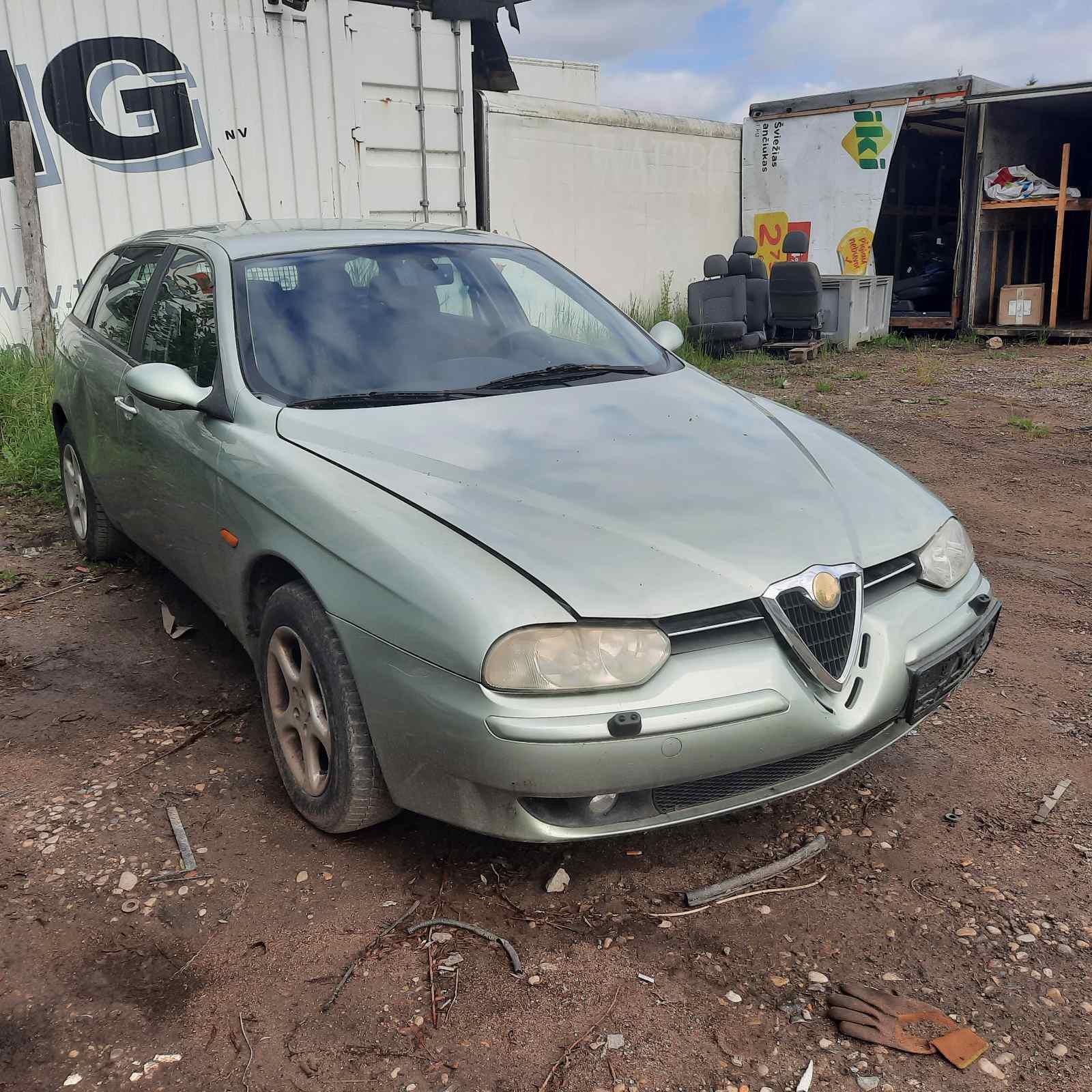 Naudotos automobilio dalys Alfa-Romeo 156 2003 2.0 Automatinė Universalas 4/5 d. Zydra 2021-6-28