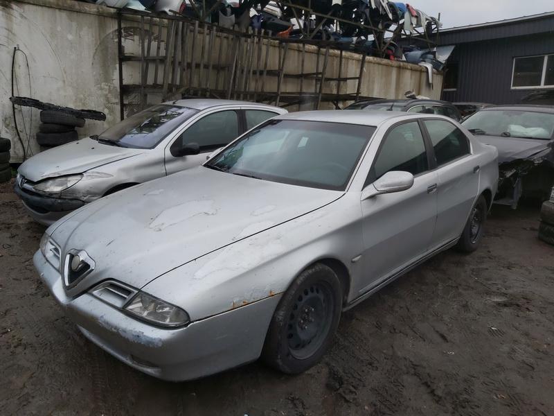 Подержанные Автозапчасти Foto 4 Alfa-Romeo 166 1999 2.4 машиностроение седан 4/5 d. Серый 2020-11-21 A5842