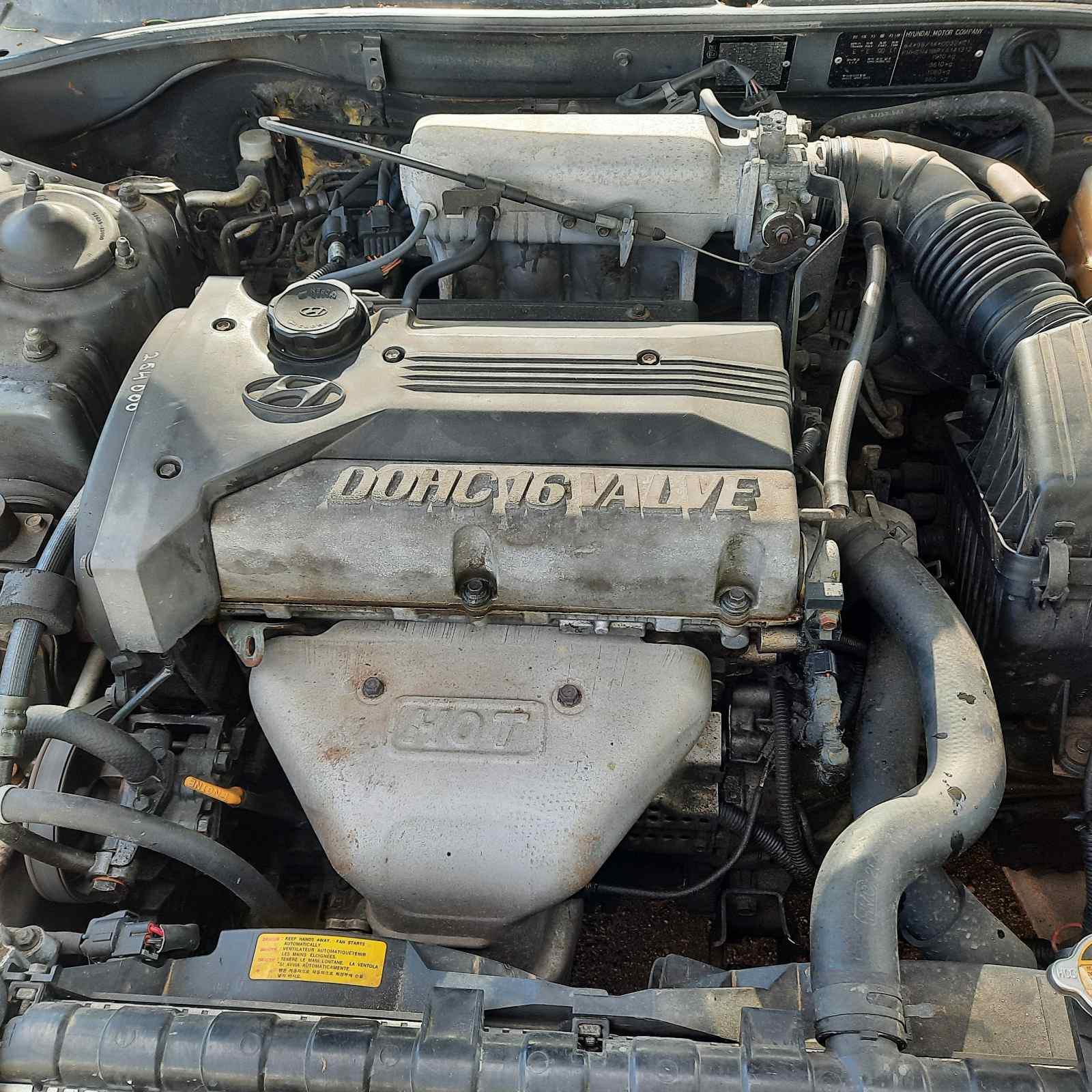 Naudotos automobiliu dallys Foto 3 Hyundai SONATA 1999 2.0 Mechaninė Sedanas 4/5 d. Pilka 2021-6-10 A6299