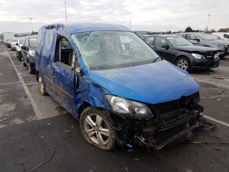 Used Car Parts Volkswagen CADDY 2014 2.0 Mechanical Commercial 2/3 d. Blue 2021-1-12