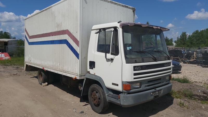 Naudotos automobiliu dallys Foto 1 Truck - DAF 45 1992 0.0 Mechaninė Sunkvezimis 2/3 d. Balta 2021-6-10 A6296