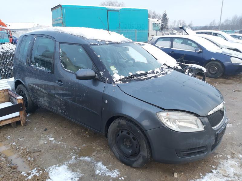 Naudotos automobilio dalys Skoda ROOMSTER 2008 1.4 Mechaninė Vienatūris 4/5 d. Melyna 2020-12-01