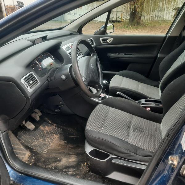 Naudotos automobiliu dallys Foto 8 Peugeot 307 2005 1.6 Mechaninė Universalas 4/5 d. Melyna 2021-10-14 A6742