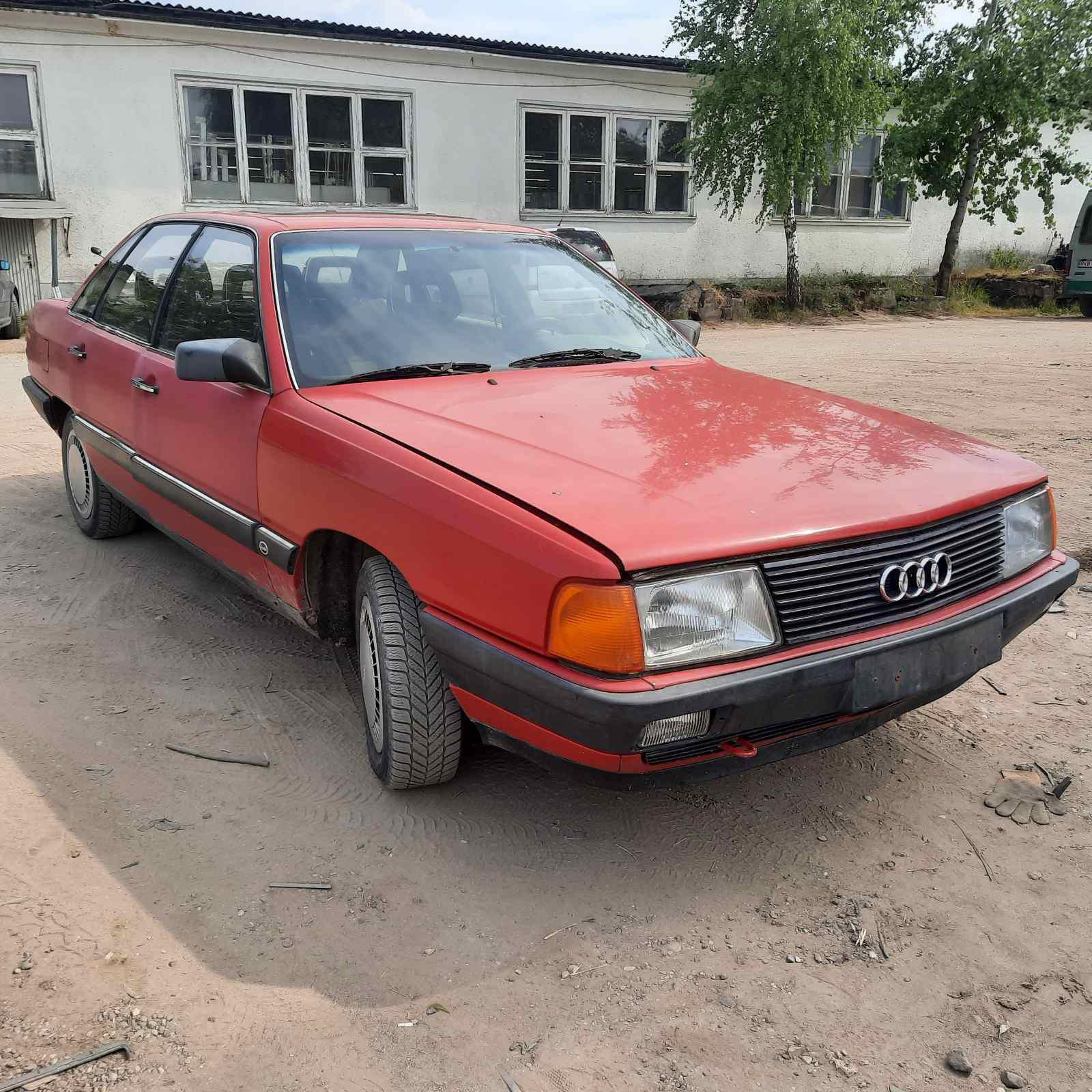 Подержанные Автозапчасти Audi 100 1987 2.2 машиностроение седан 4/5 d. красный 2021-7-26