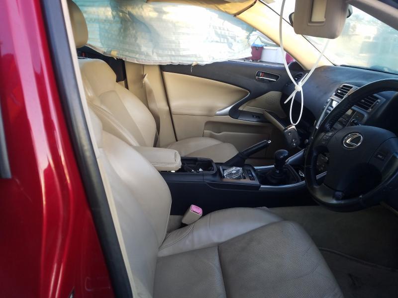 Naudotos automobilio dalys Lexus IS - CLASS 2006 2.2 Mechaninė Sedanas 4/5 d. Raudona 2021-1-07