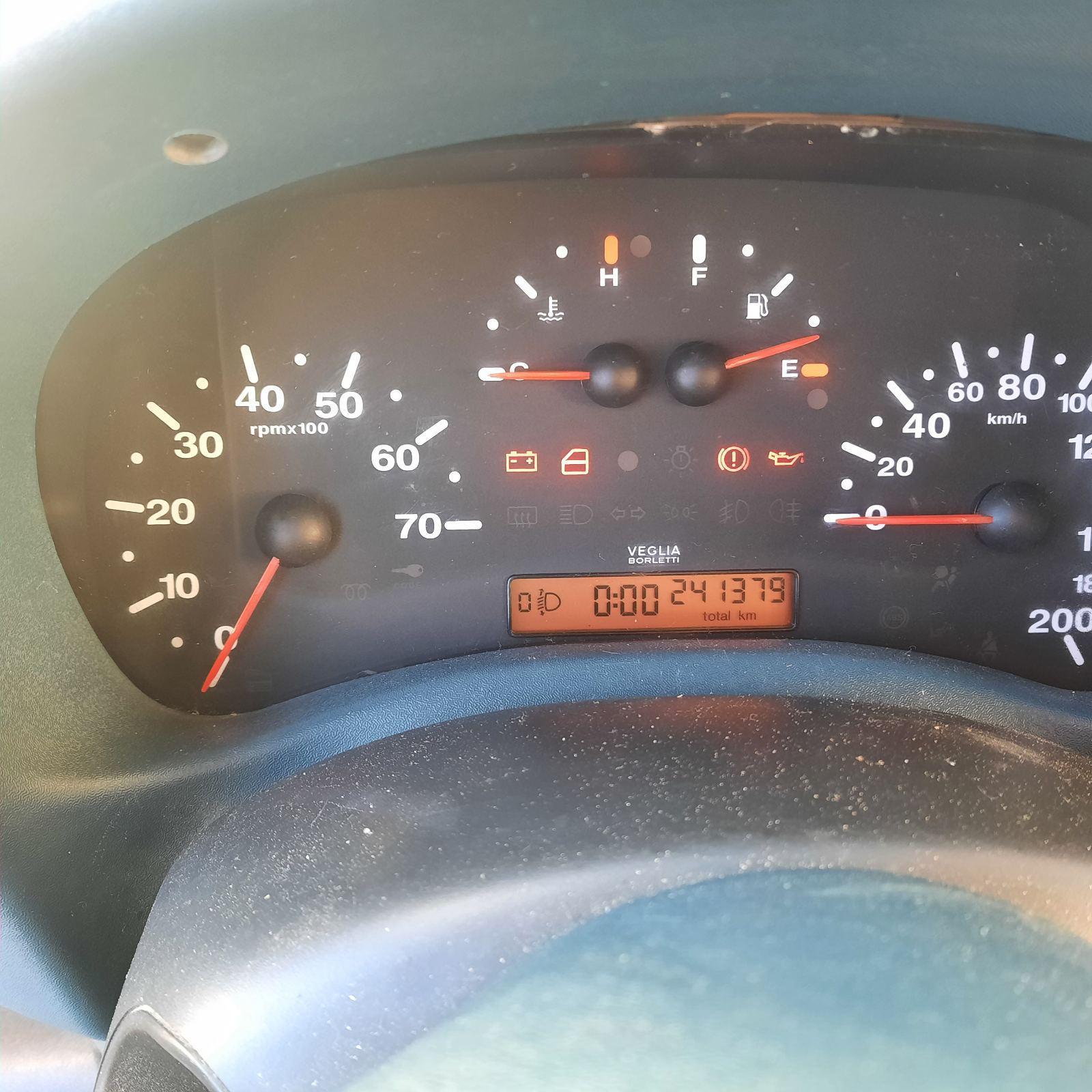 Подержанные Автозапчасти Fiat DOBLO 2001 1.9 машиностроение коммерческая 2/3 d. Серый 2021-3-05
