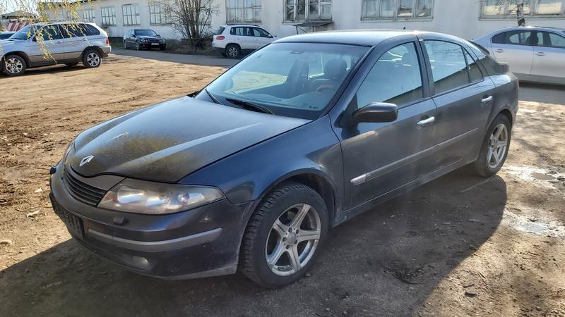 Naudotos automobiliu dallys Foto 3 Renault LAGUNA 2002 1.9 Mechaninė Hečbekas 4/5 d. Juoda 2021-5-01 A6189