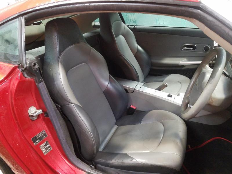 Naudotos automobilio dalys Chrysler CROSSFIRE 2004 3.2 Automatinė Kupė 2/3 d. Raudona 2021-3-23