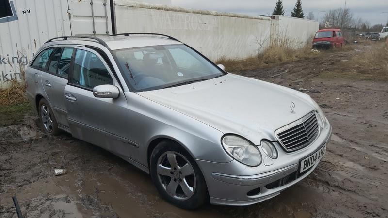 Naudotos automobilio dalys Mercedes-Benz E-CLASS 2004 2.7 Automatinė Universalas 4/5 d. Sidabrine 2020-12-31