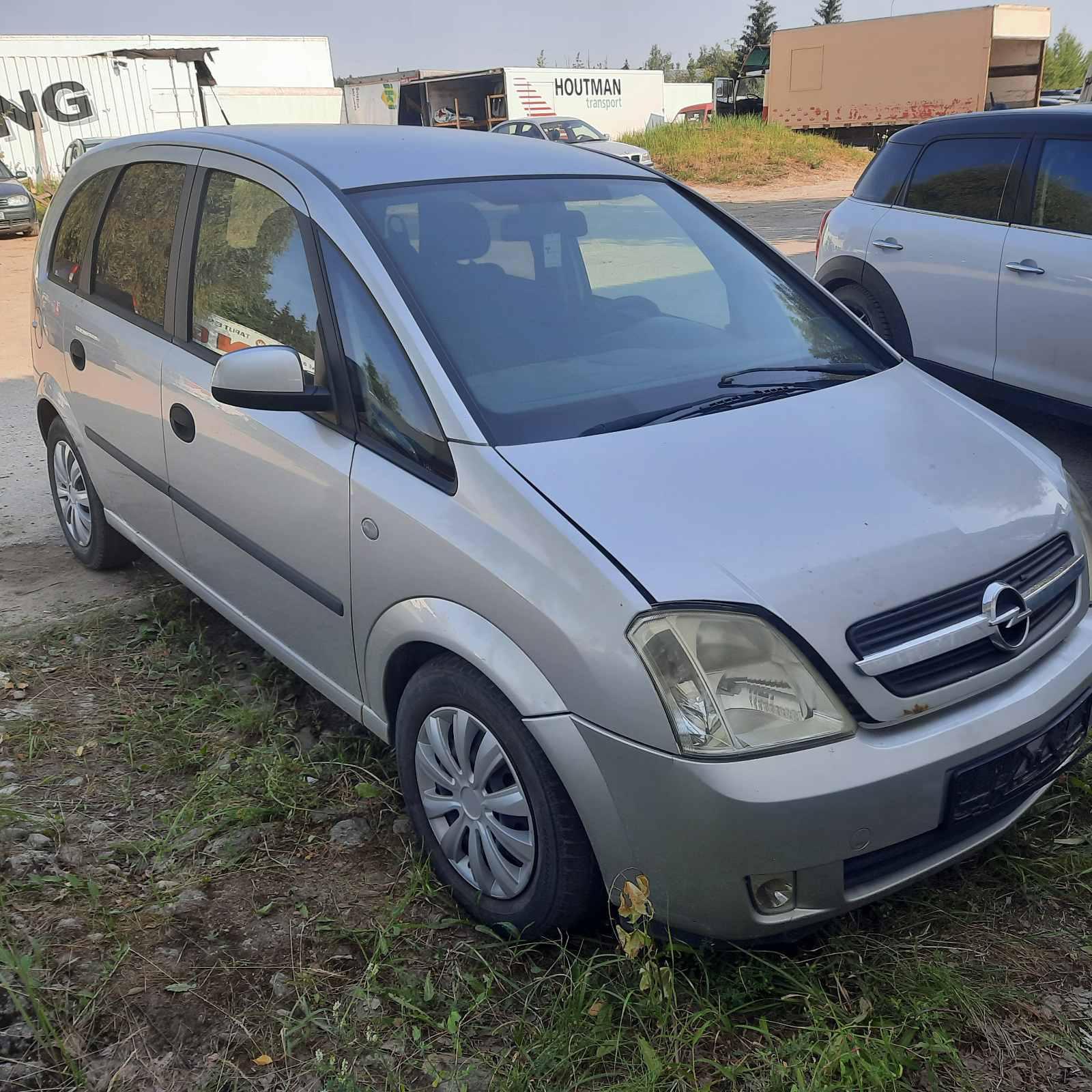 Naudotos automobilio dalys Opel MERIVA 2004 1.7 Mechaninė Vienatūris 4/5 d. Pilka 2021-7-21