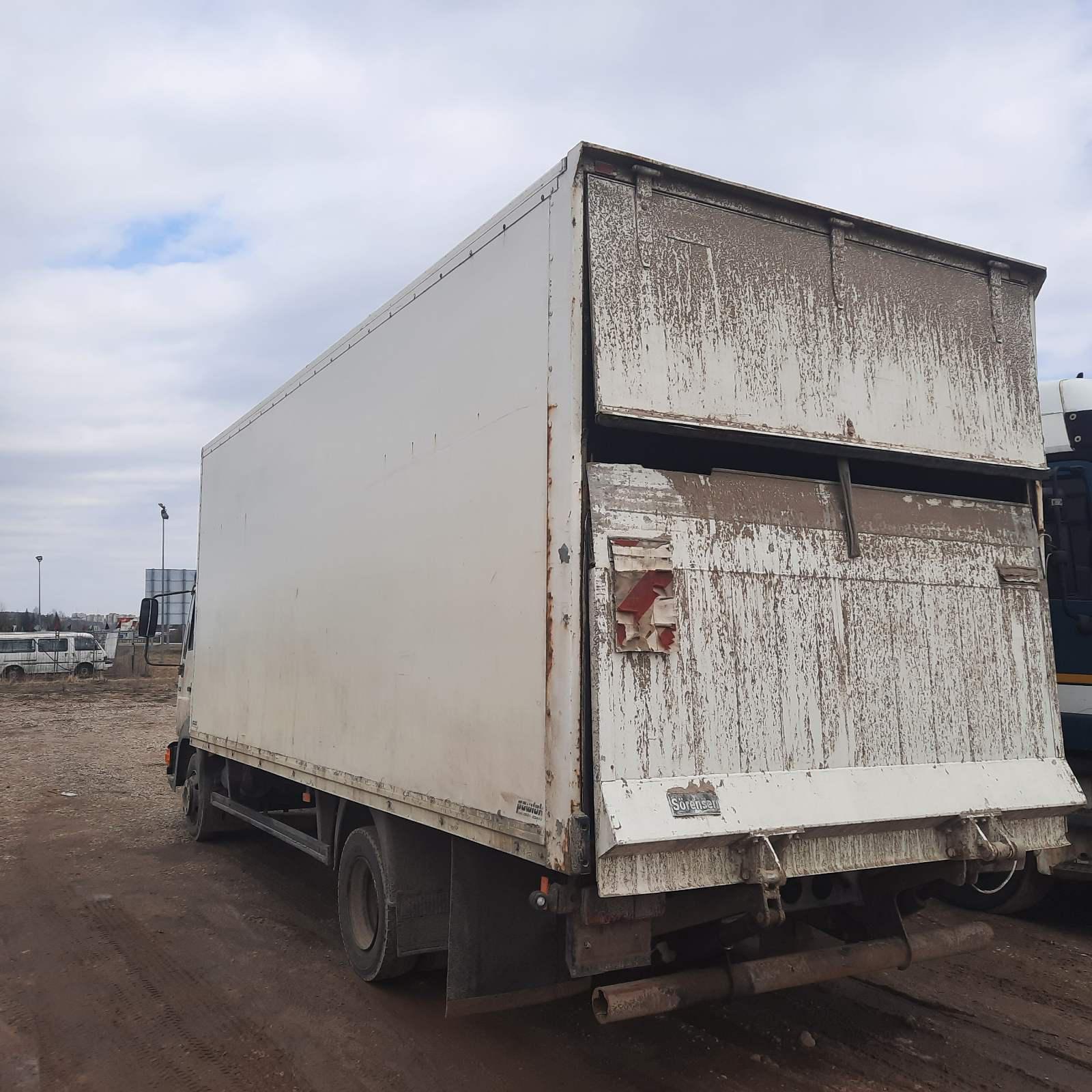 Naudotos automobiliu dallys Foto 4 Truck - MAN 8.163 1998 4.6 Mechaninė Sunkvezimis 2/3 d. Balta 2021-3-29 A6127