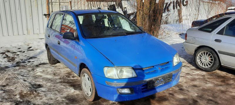 Naudotos automobilio dalys Mitsubishi SPACE STAR 2000 1.3 Mechaninė Vienatūris 4/5 d. Melyna 2021-2-19